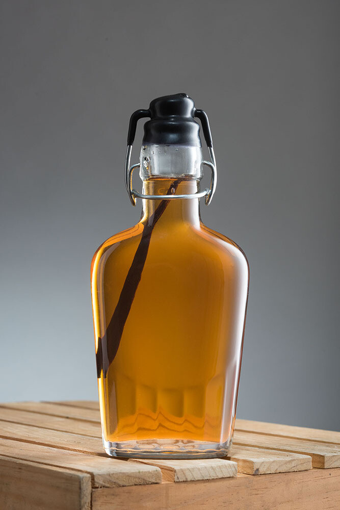 Vanilla Bean-Infused Maple Syrup