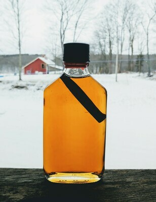 Cinnamon-Infused Maple Syrup