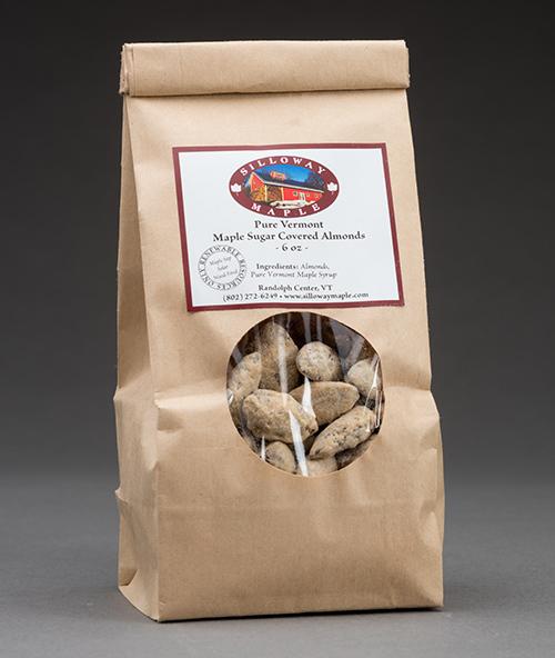 Maple Sugar Coated Almonds  6 ounces 00020