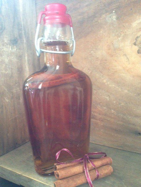 Cinnamon-Infused Maple Syrup 00043