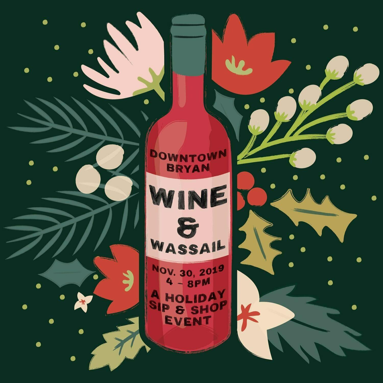Wine & Wassail Ticket