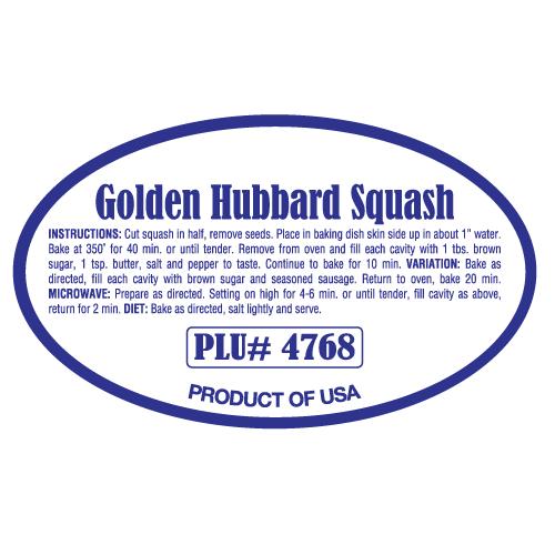 Golden Hubbard Squash
