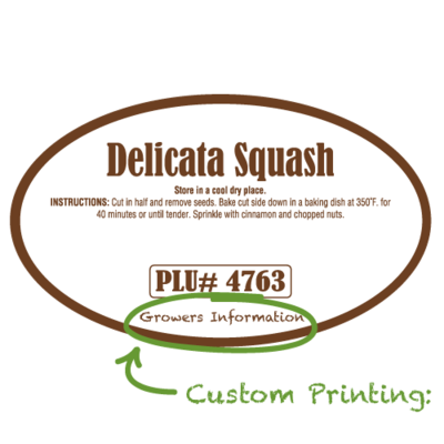 Semi-Custom Delicata Squash