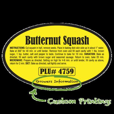 Semi-Custom Butternut Squash