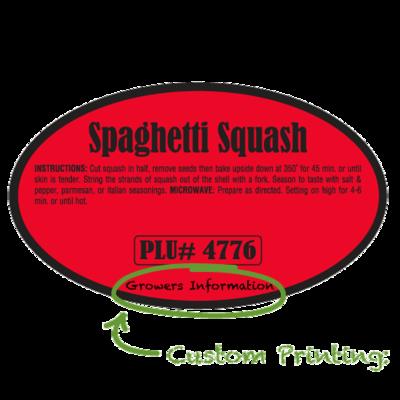Semi-Custom Spaghetti Squash