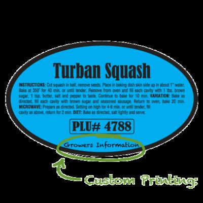 Semi-Custom Turban Squash