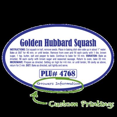 Semi-Custom Golden Hubbard Squash