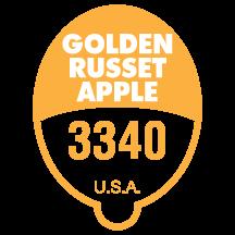 Golden Russet Apple 3340