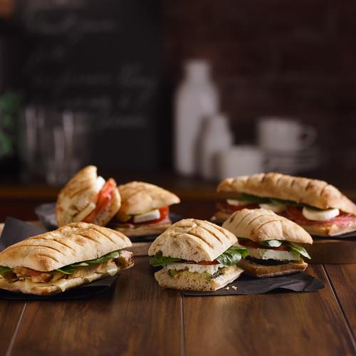 Sandwichs panini assortis