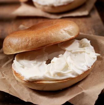 Cream Cheese Bagel