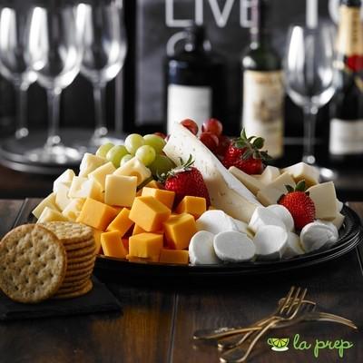 Plateau de fromage et fruits