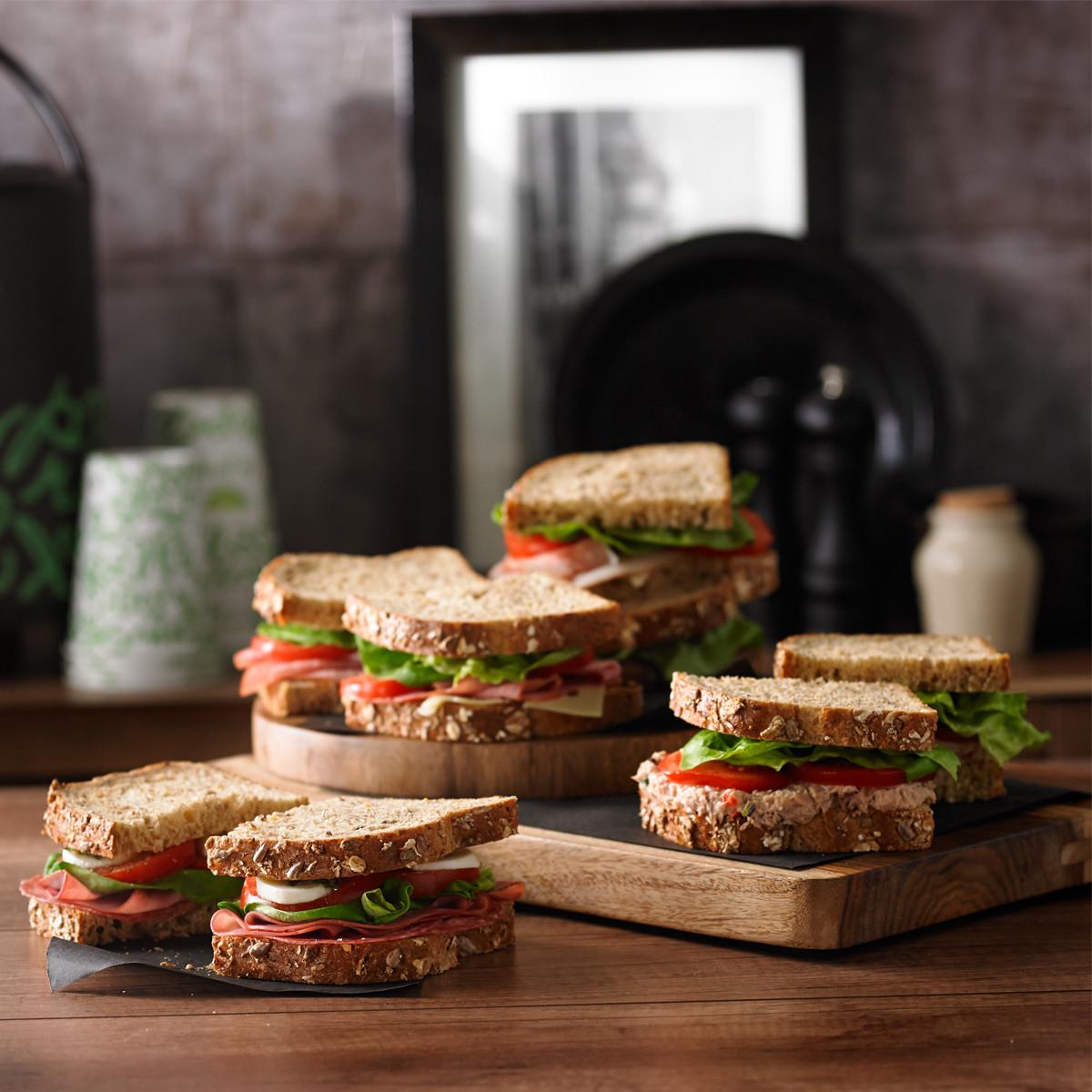 Sandwichs classiques assortis