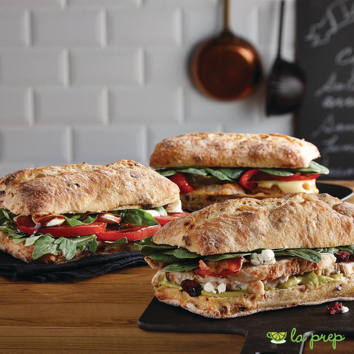 Assorted Premium Ciabatta Sandwiches