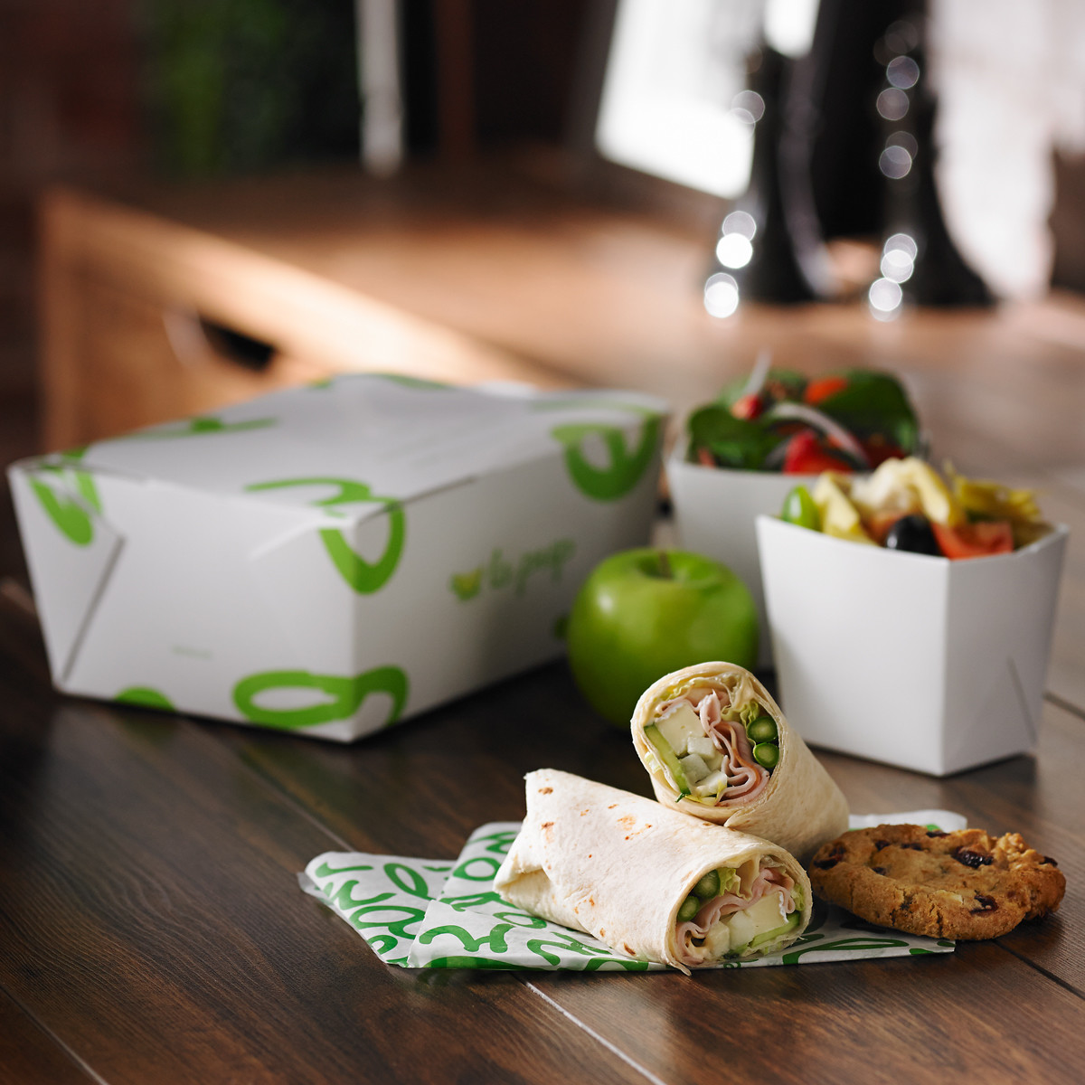 Wrap Lunch Box