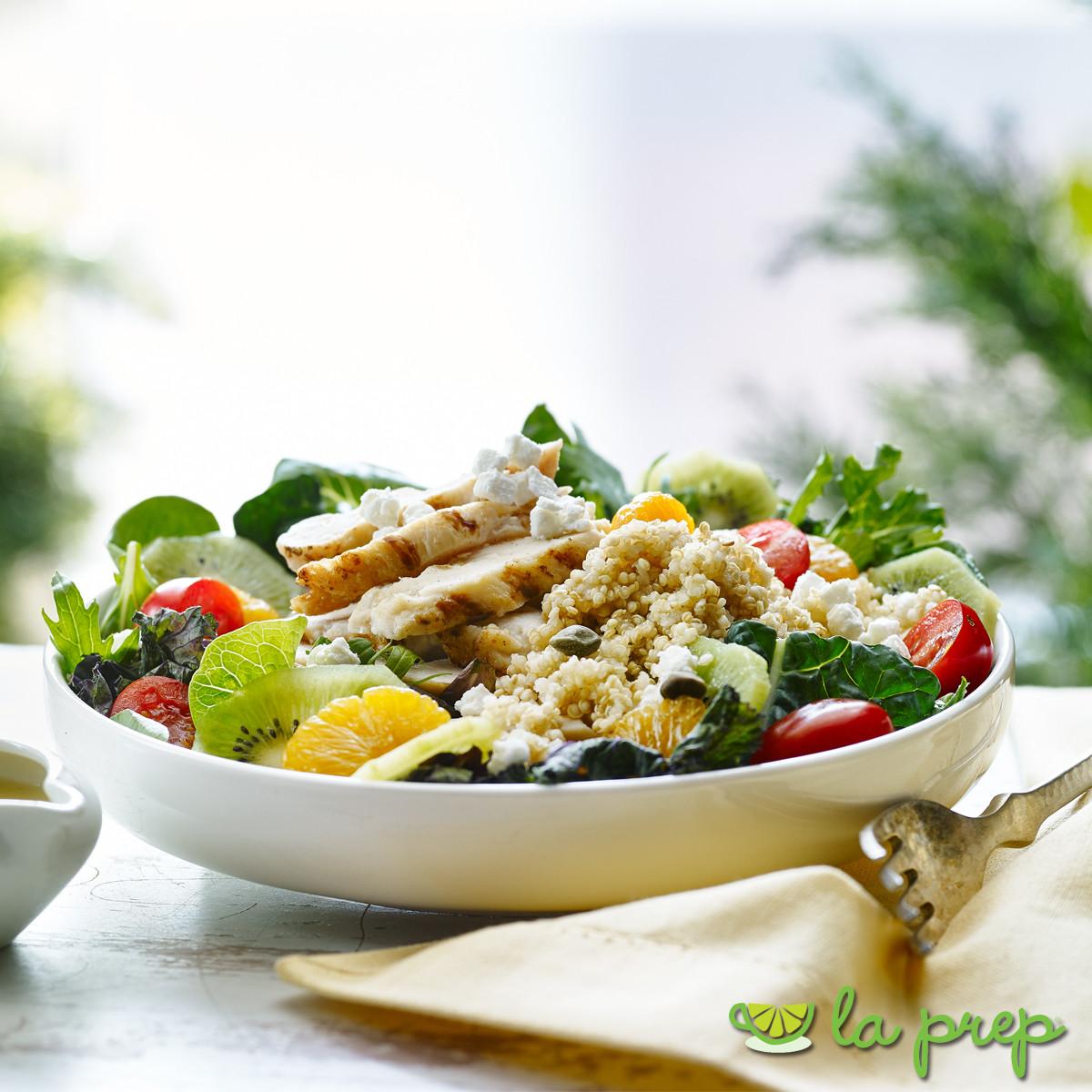 Salade Tropical au Poulet et Quinoa