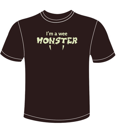 I'm a wee monster
