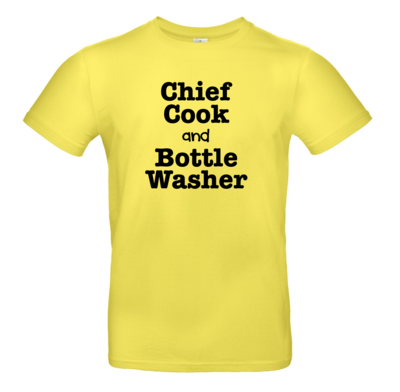 Chief Cook and Bottle Washer