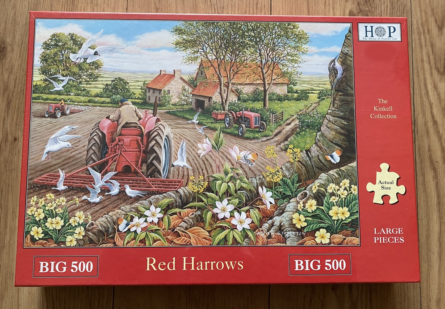 Red Harrows