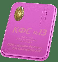 """КФС №13 """"Здоровый интеллект"""" 5 элемент 2018г 00013"""