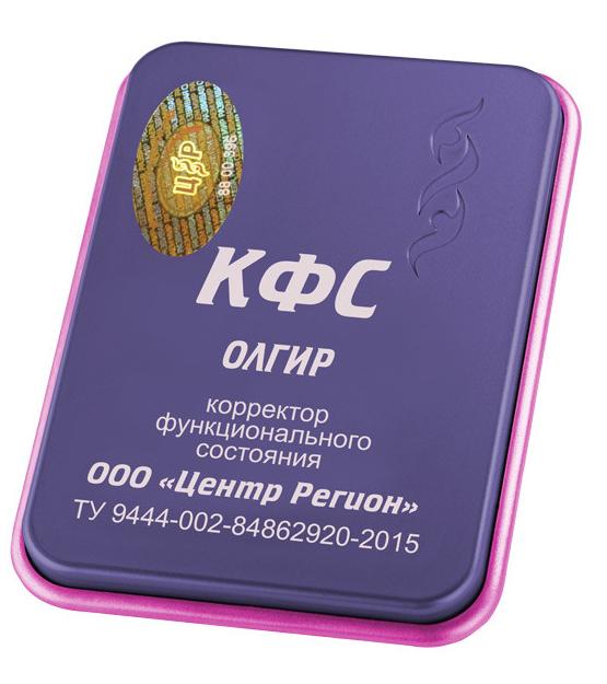 """КФС """"ОЛГИР"""" Коллекционная 5 элемент 2018г 00068"""