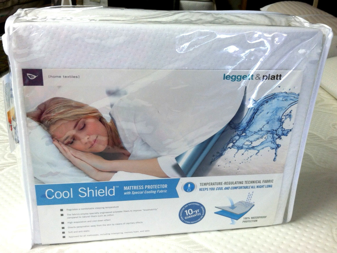 Leggett & Platt Home Textiles Cool Shield Mattress Protector