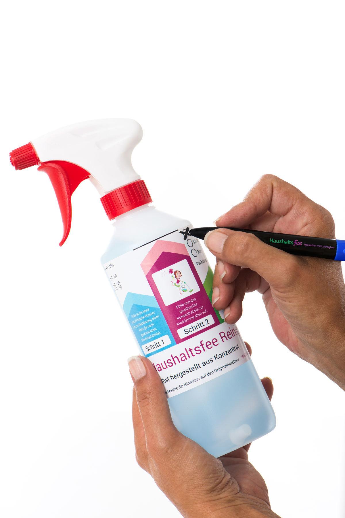 Haushaltsfee Spruehflasche 500 ml (neutral) HF-005