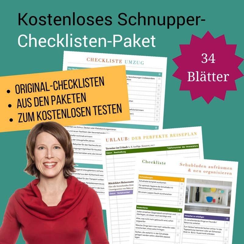 Checklisten-Schnupperpaket CP09