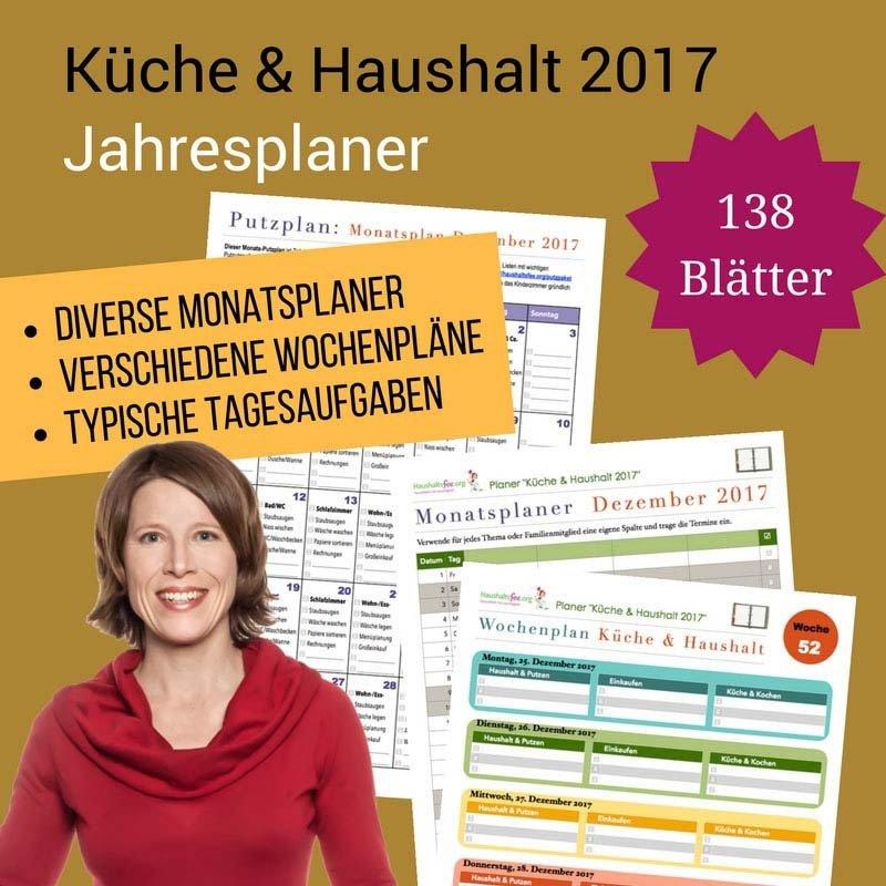 Kueche & Haushalt - der Haushaltsfee Jahresplaner CP008