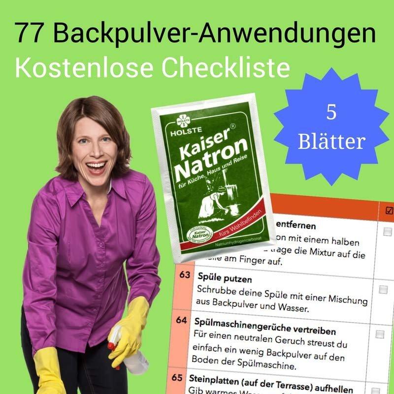 77 raffinierte Anwendungen für Backpulver CL00162