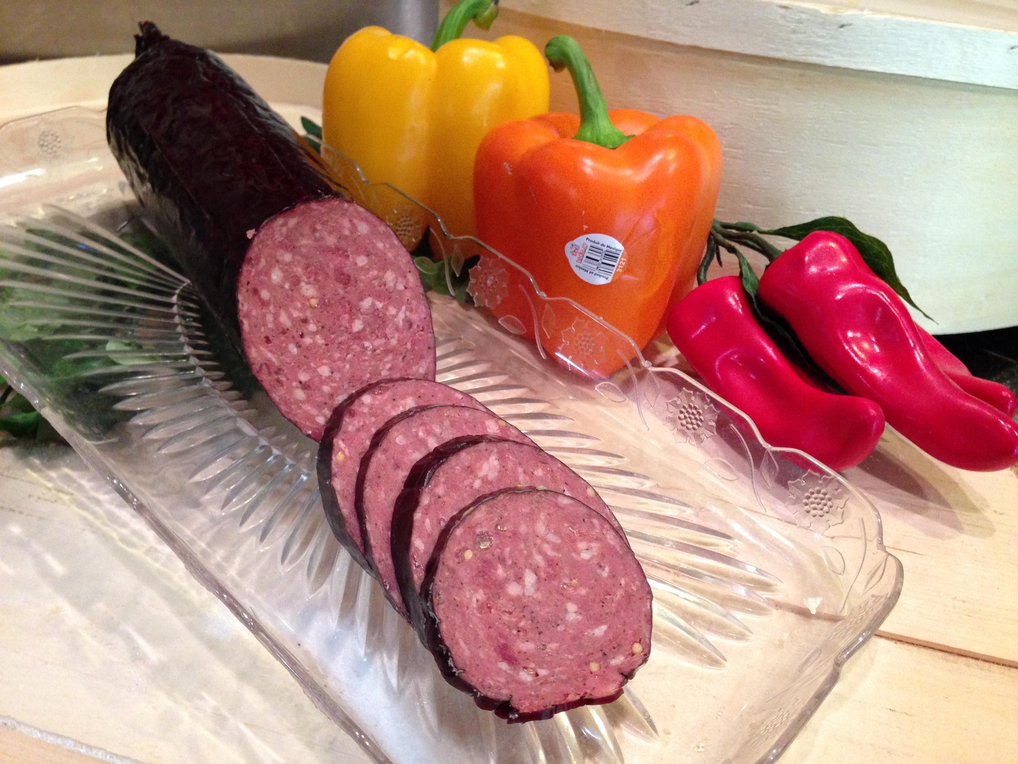 Beef Jalapeno Summer Sausage 00014