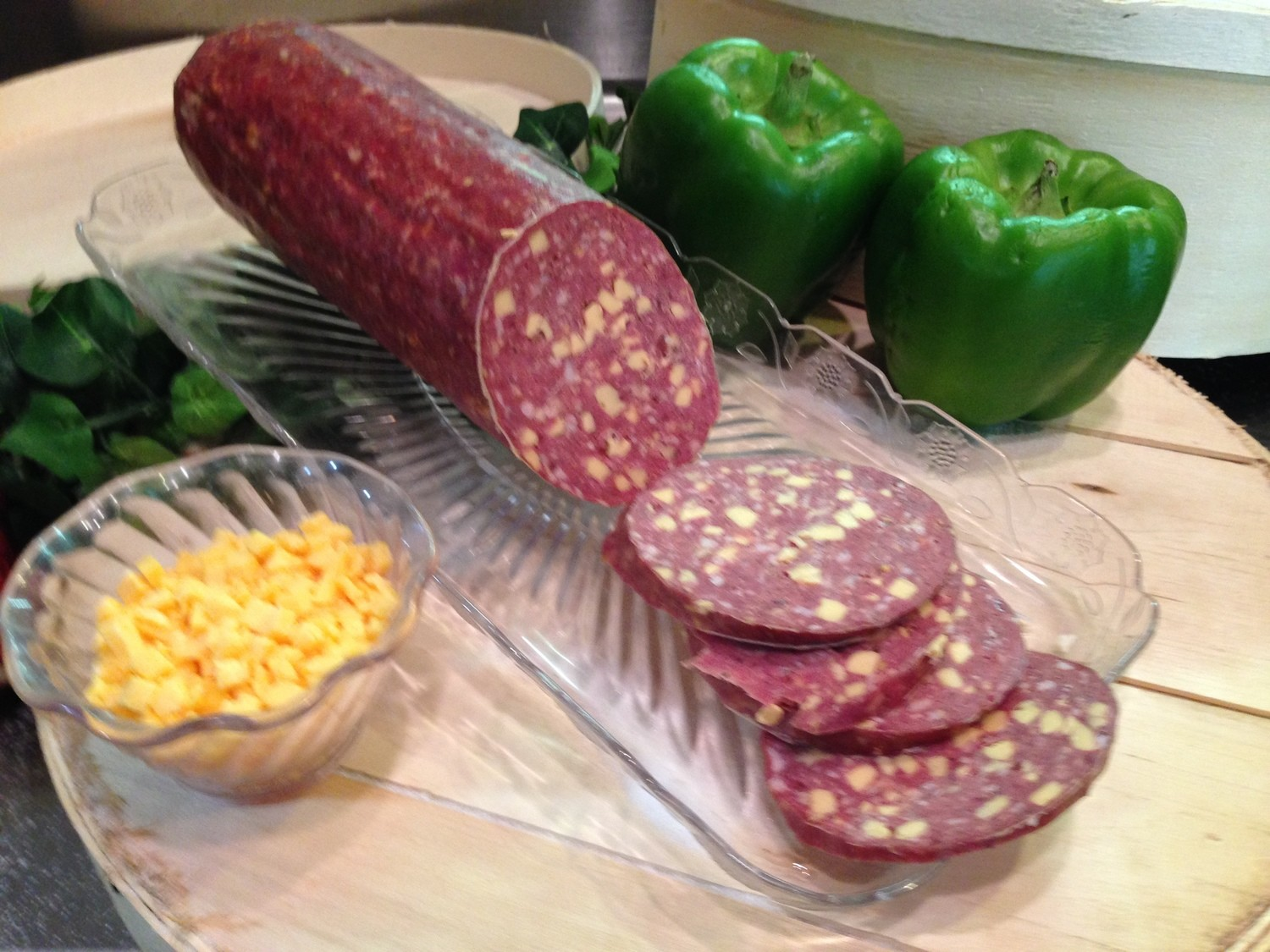 Beef Summer Sausage w/ Cheese