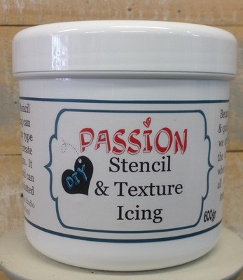 PASSION for DIY STENCIL & TEXTURE ICING