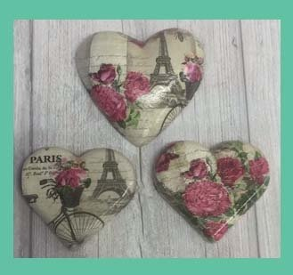 Decoupage Hearts Workshop