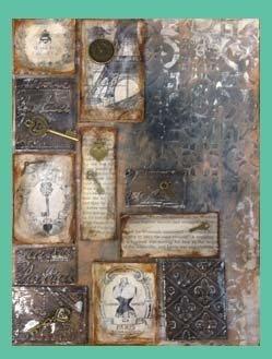 Mixed Media Texture Board