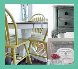 Upcycling Furniture with Passion for DIY chalk paint.