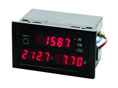VI024 Ψηφιακός Μετρητής Ισχύος, τάσης, έντασης AC80-3000V, 0-100A