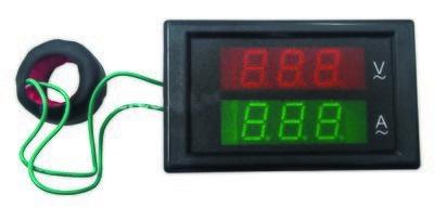 VI018 Ψηφιακό βολτόμετρο AC 80/300V, 100Α