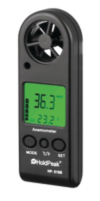Holdpeak HP-816B ανεμόμετρο