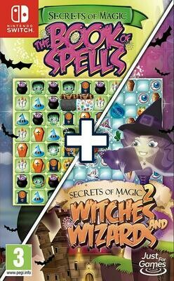 Secrets of Magic 1 & 2 – The Book of Spells + Witches and Wizards (Switch) Game