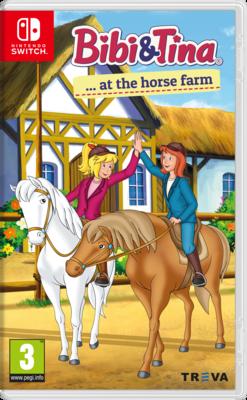Bibi & Tina at the Horse Farm (Switch) Game