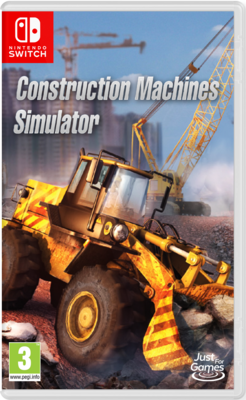 Construction Machines Simulator (Switch) Game
