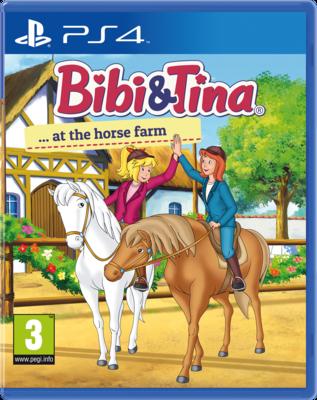 Bibi & Tina at the Horse Farm (PS4) Game