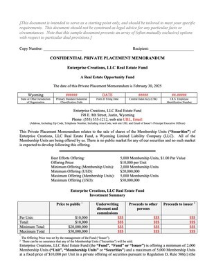 LLC Real Estate Fund