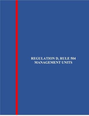 Reg. D, Rule 504 LLC Equity