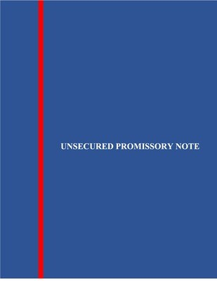 Unsecured Promissory Note