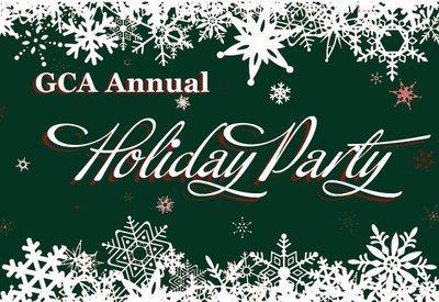 GCA Members Holiday Party - Early Bird