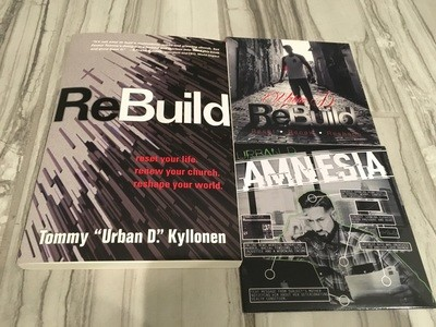 ReBuild Combo Package (Book, CD, EP)