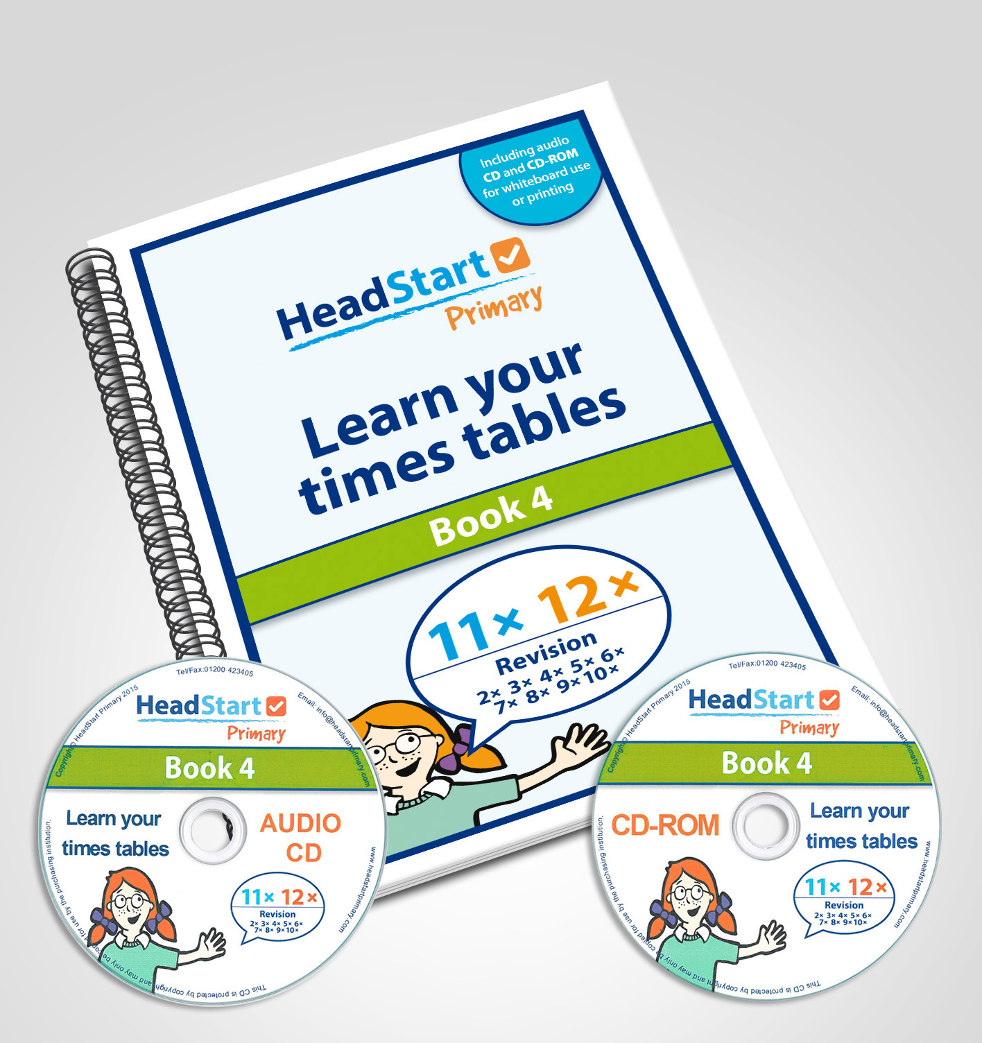 Learn your times tables book 4 11x 12x and revision for 11x table