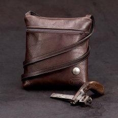Traveler Buffalo Leather Purse