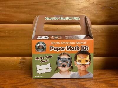 North American Animals Paper Mask Art Kit